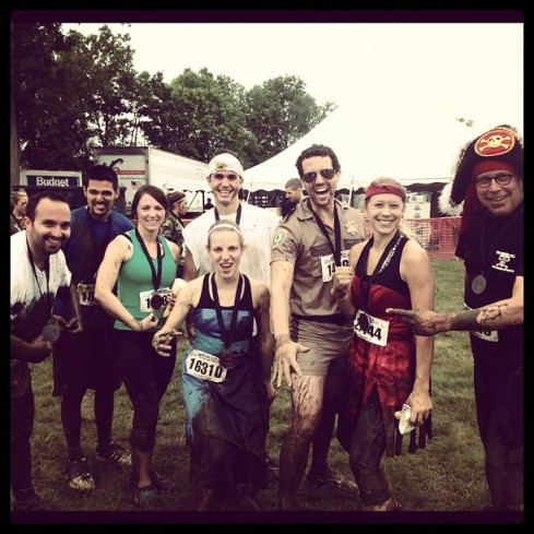 warrior dash new england 2012